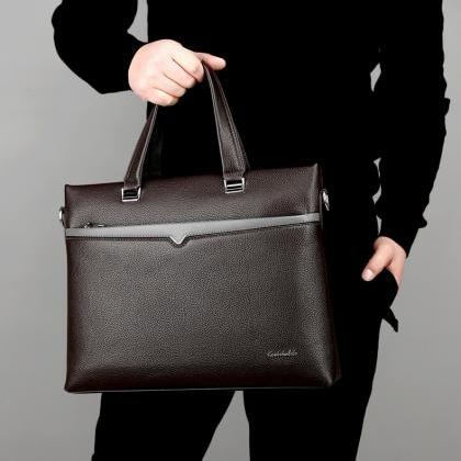 Fashion Briefcase Men's Handbag