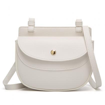 Chic Ellipse Shape Cover Crossbody ..