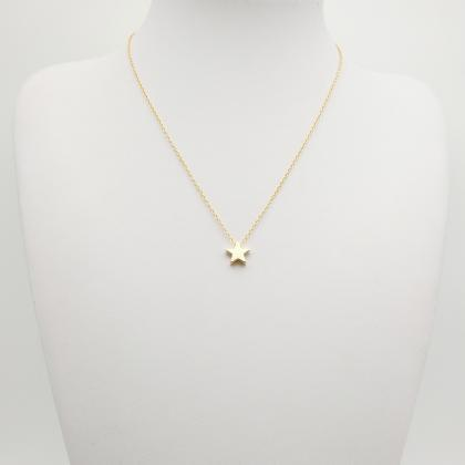 Fashion Thickened Star Pendant Neck..