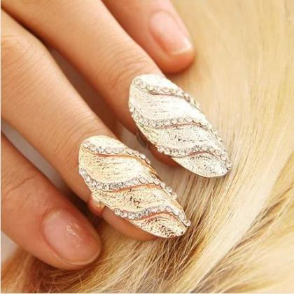 Full set of diamond drill nail nail..