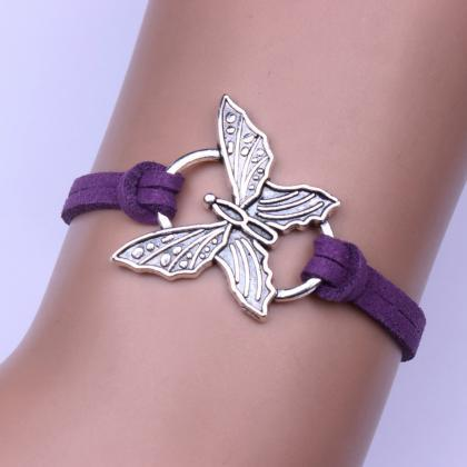 Fashion Jewelry Butterfly Velvet Ro..
