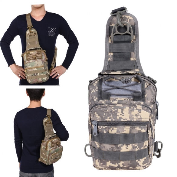 Waterproof Multipurpose Military Tactical Backpack Hiking Camping Traveling Trekking Bag Chest Bag Message Bag