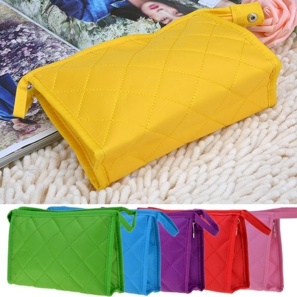 New Multifunction Travel Cosmetic Bag Makeup Pouch Toiletry Zipper Wash Organizer