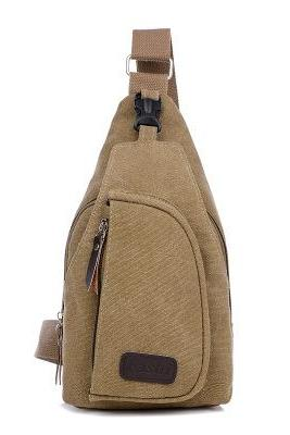 Multipurpose Canvas Men Chest Pack