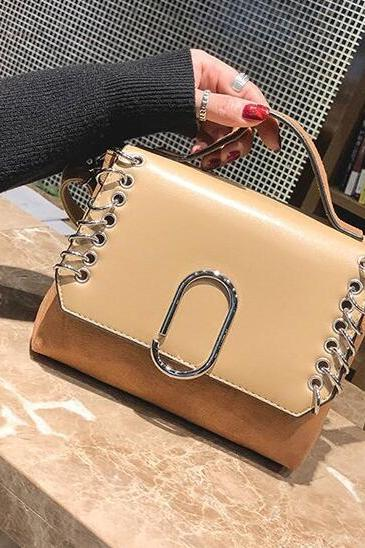 Personality Rivet Decoration Crossbody Bag