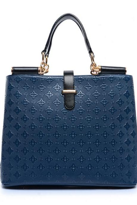 All Match Ling Plaid Embossing Satchel