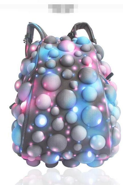 Original Starry Sky Design Zipper Backpack