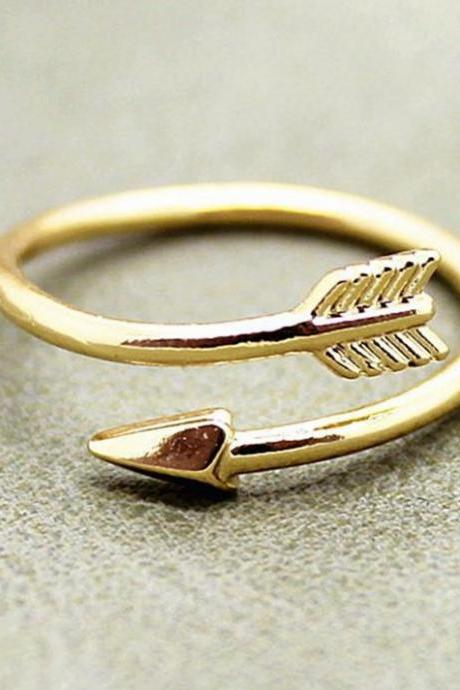 The arrow ring opening ring geometry