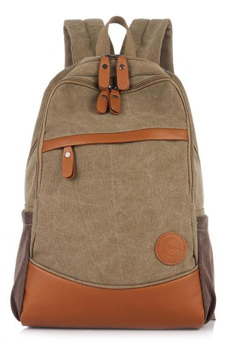 Fashion Korea Casual Style Canvas Computer Backpack