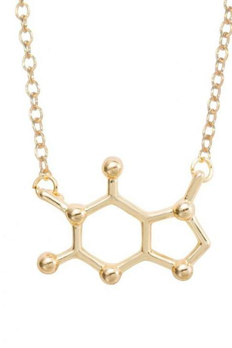 Europe Explosion Models Chemical Molecules Personalized necklace