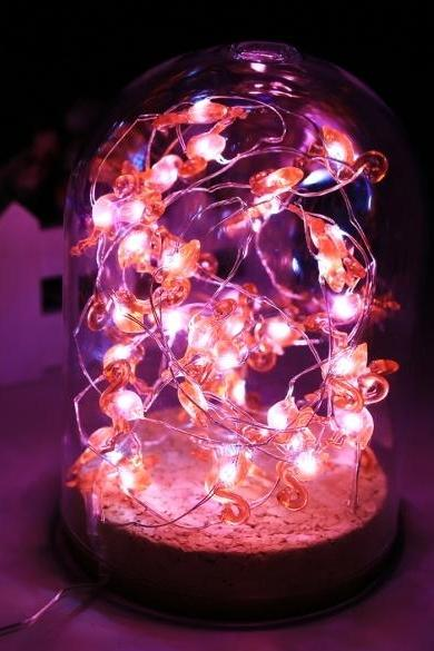New 3M 40 LED Copper Wire String Light Bird Battery Power Party Christmas Decor Light With Remote Control