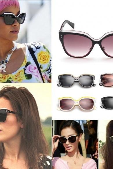 New Fashion Stylish Women Classic Retro Unisex Vintage Style Sunglasses