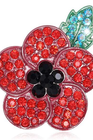 In May the new plum blossom type clothing Brooch