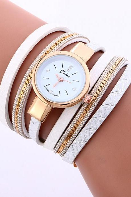 Retro Style Twine Bracelet Watch