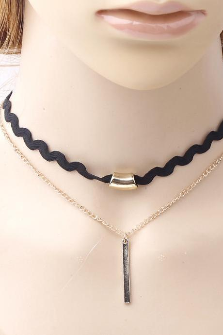 Fashion new national wind multilayer han edition necklace