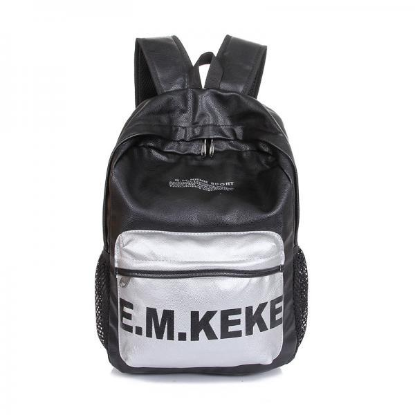 Letter Print Perfect School Backpack Bag