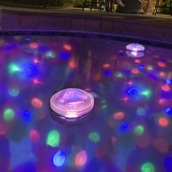 5 Light Mode Underwater LED Disco Glow Light Show Pond Pool Hot Tub