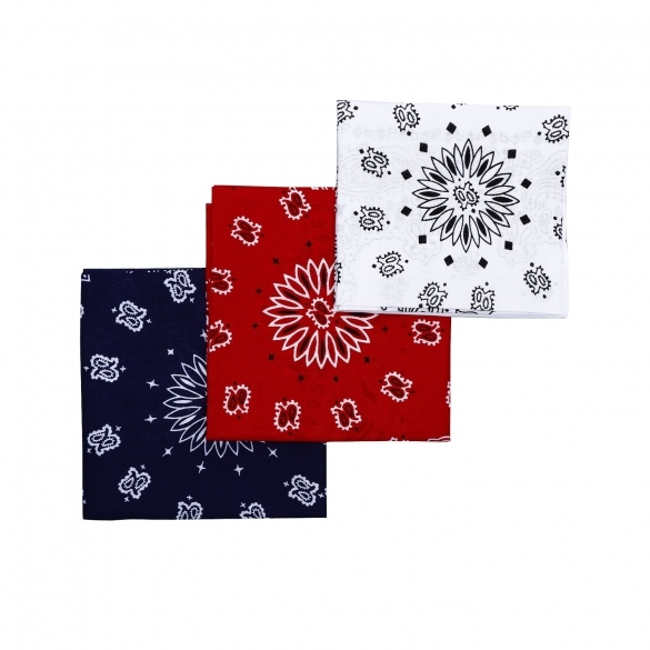 Women's Print Small Square Scarf Bandana Neckerchief