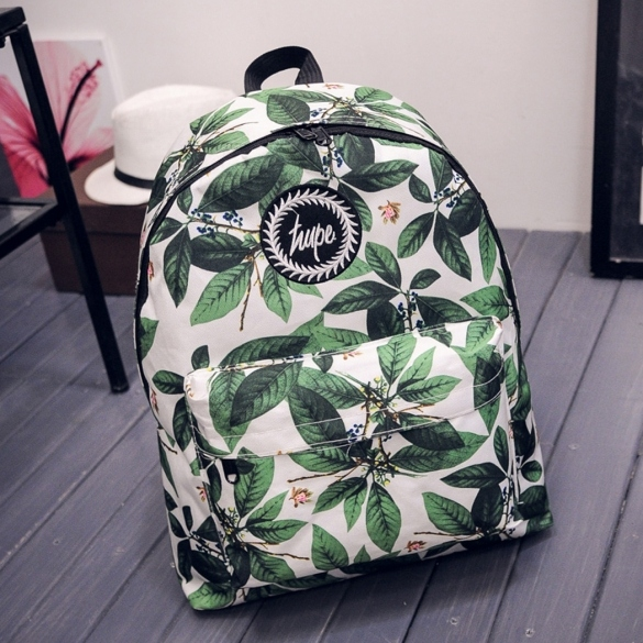 Women Casual Print Backpack School Laptop Bag Travel Rucksack Girls Bookbag