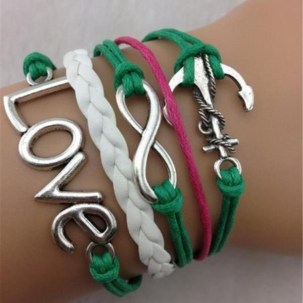 LOVE Anchor Fashion Hot Bracelet